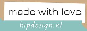 Maak je geboortekaart compleet met eigen logo